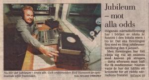 Radio Höganäs - Jubileum